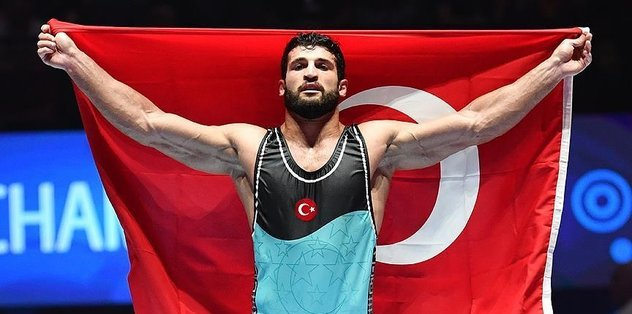 Metehan Basar wins gold at Paris 2017