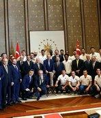 Cumhurbaşkanı Erdoğan'a ziyaret