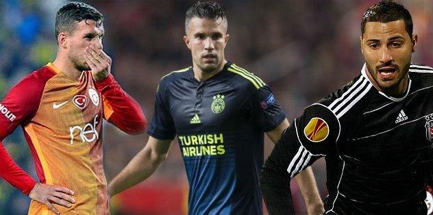 Van Persie ve Podolski'den teröre lanet