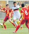 U16 maçında kavga