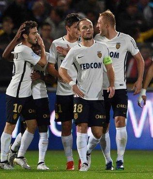 Monaco'dan gol ya�muru