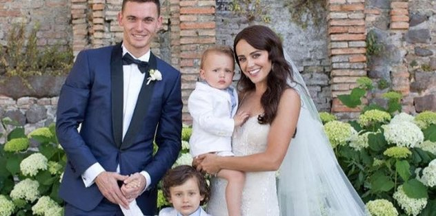 Vermaelen evlendi