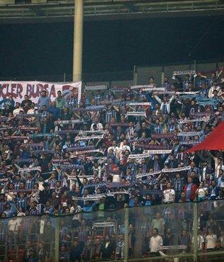 Trabzonspor taraftar� ilk kez Arena'da