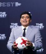 "Maradona'dan ""video hakem"" sistemine destek"