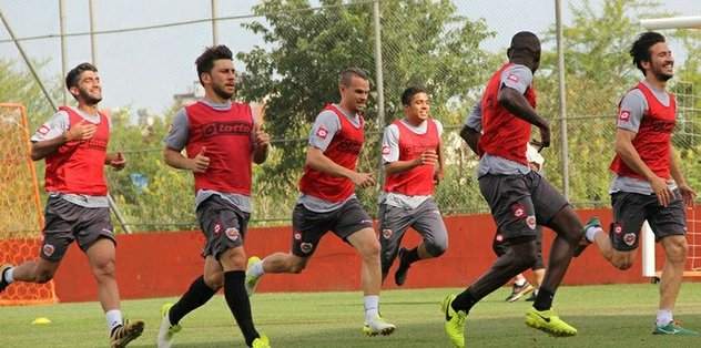 Adanaspor'da Kayserispor maçı hazırlıkları
