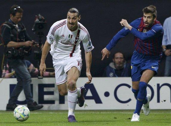 AC Milan - Barcelona (Şampiyonlar Ligi Çeyrek Final)