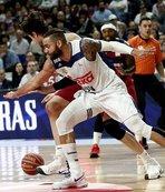 Basketbolda El Clasico Real Madrid'in