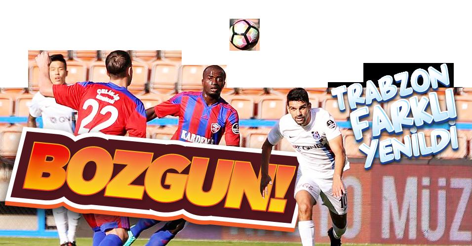 Trabzon farkl� yenildi