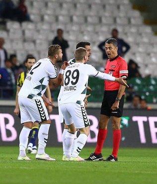 Atiker Konyaspor'dan hakem tepkisi