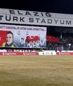 Kahraman şehidin oğlu Elazığspor-G.Saray maçında