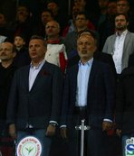 Başkanlar yan yana