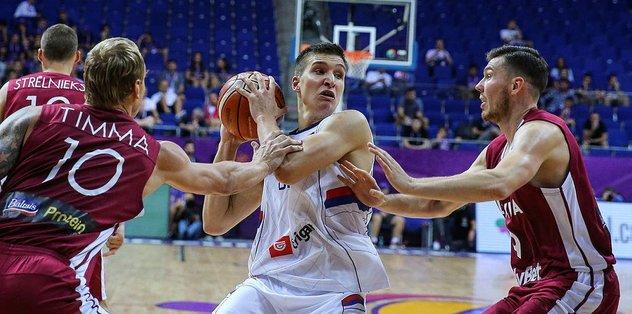 Sırbistan'ı Bogdanovic de kurtaramadı