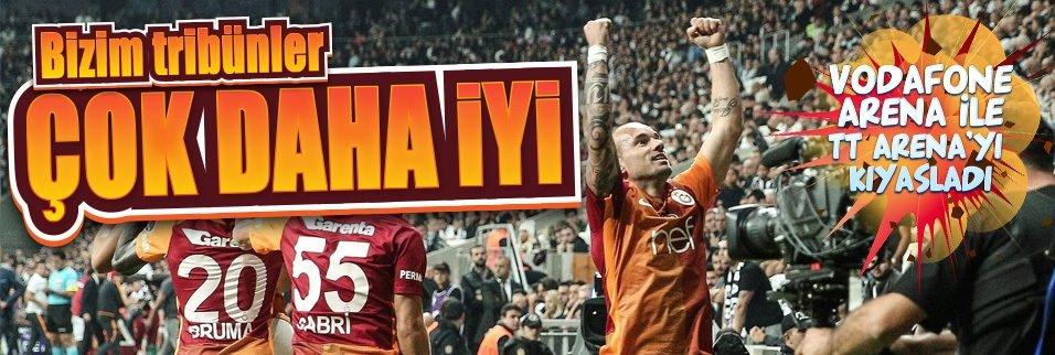 Sneijder'den taraftara �vg�