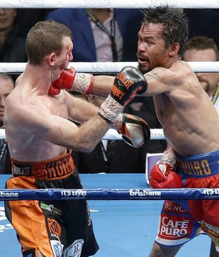 Pacquiao loses welterweight world title