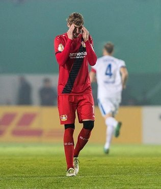 Leverkusen'e kupa �oku!