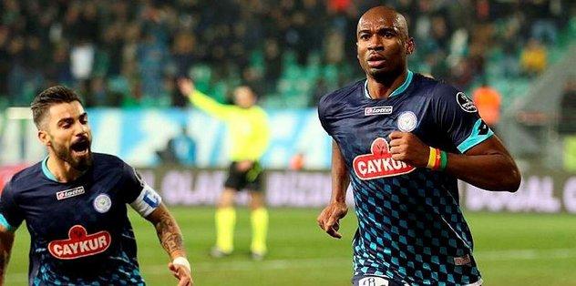 Rize'de, Bursaspor maçı hazırlıklarına başladı