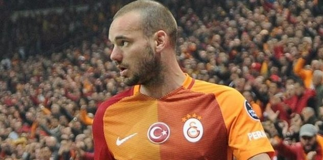 Galatasaray'da Sneijder'le yollar ayrıldı!