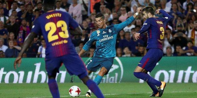 Real Madrid, Barcelona'yı ezdi!