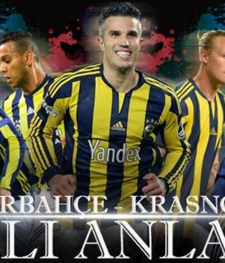 Fenerbahçe - Krasnodar | Canlı Anlatım
