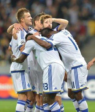 Dinamo Kiev �stanbul'da