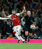 Arsenal geri dönmeyi başardı