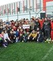 Öğrencilerden Eskişehirspor'a ziyaret