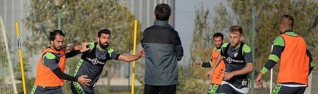 Konyaspor, Başakşehir hazırlıklarına başladı