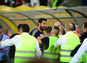 Vardar-Fenerbahçe maçı sonrası gerilim!