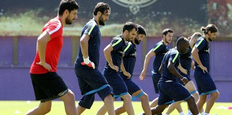 Osmanlıspor'da yeni sezon hazırlıkları sürüyor