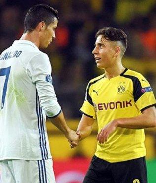 Emre Mor'dan Ronaldo'ya te�ekk�r