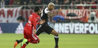 Besiktas, Olympiacos draw 1-1 in EL