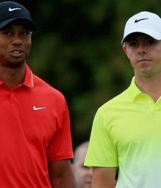 Tiger Woods'un ard�ndan...