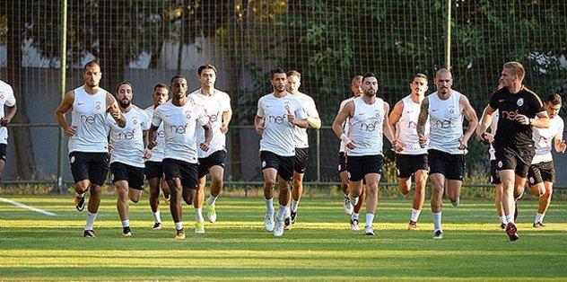 Galatasaray, Antalya'ya gitti