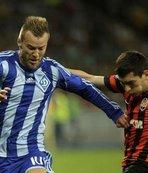 Dinamo ile Shakhtar yenişemedi
