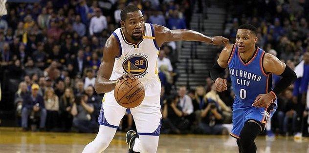 Durant'ten eski takımına 40 sayı