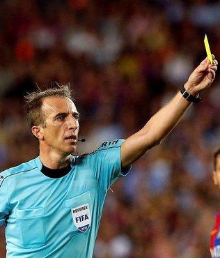 Maç İspanyol hakemin