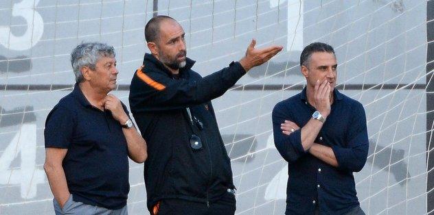 Lucescu, Galatasaray'ın idmanında