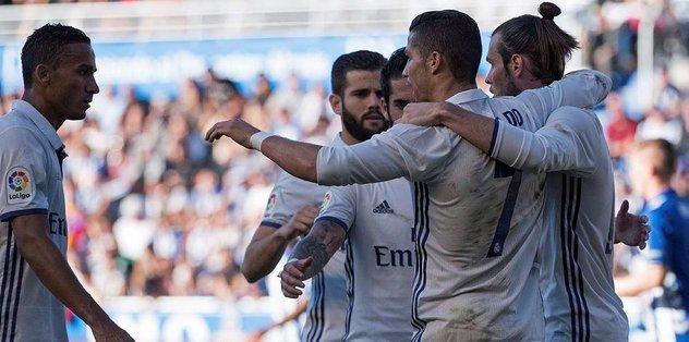 Madrid liderliğini sürdürdü