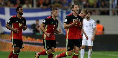 Belçika, Dünya Kupası biletini aldı