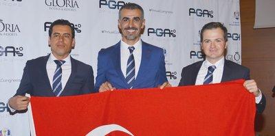 Türk golfçüler Serik'te birinci oldu