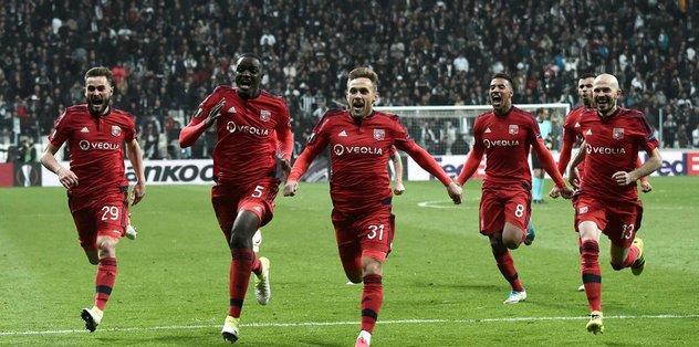 Olympique Lyon maçı Fransa basınında