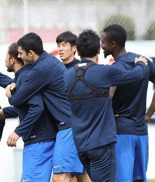 Trabzonspor'un forvetleri ilk pe�inde