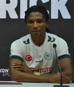Nijeryalı oyuncudan ilk açıklamalar