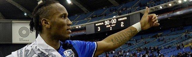 Drogba bids farewell to Montreal