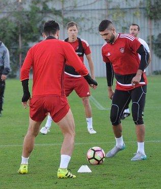 Gaziantepspor, Konyaspor'a hazırlanıyor
