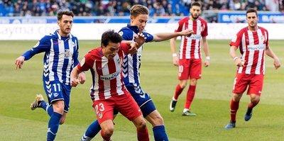 Atletico, Alaves'e diş geçiremedi!