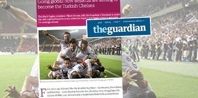 Guardian'a manşet oldu