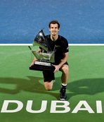 Dubai'de şampiyon Murray oldu!