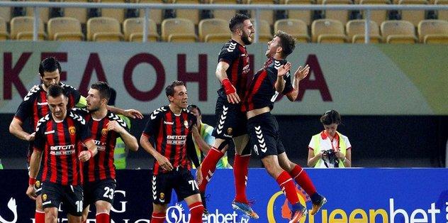 Vardar'dan 4 gollü zafer