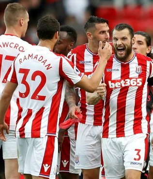 Stoke City, Arsenal'i devirdi